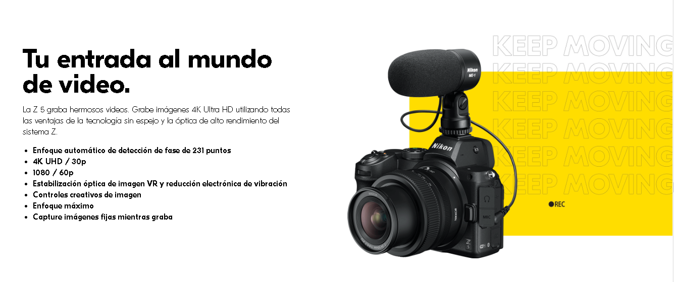 Nikon z5 precio mexico detalles español 3