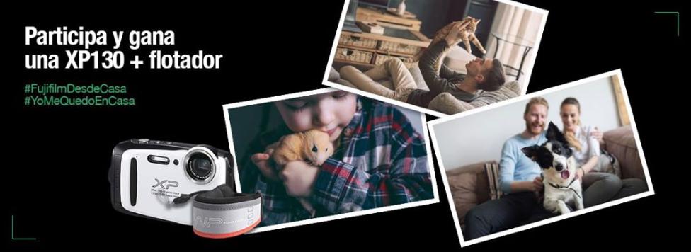 Gana una Fujifilm XP130 tomando una foto de tu mascota