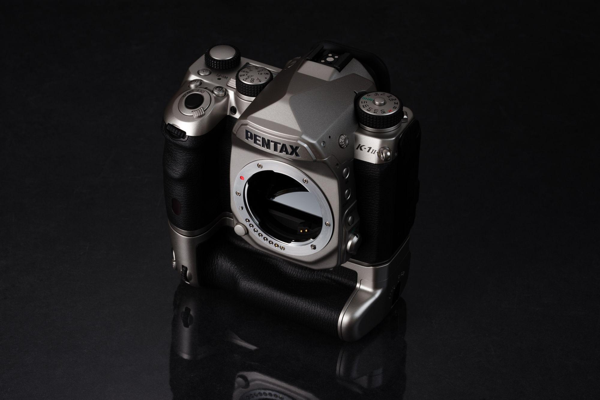 Pentax K-1 Mark II Silver Edition español mexico 2 precio