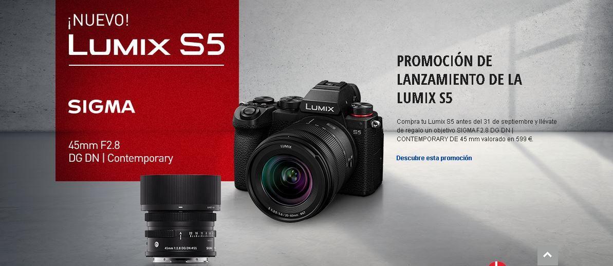 panasonic lumix s5 mexico precio costo camara nueva 7