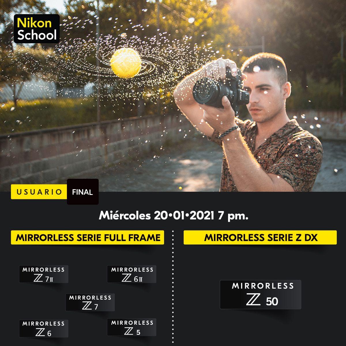 cursos nikon school gratis enero español mexico 2