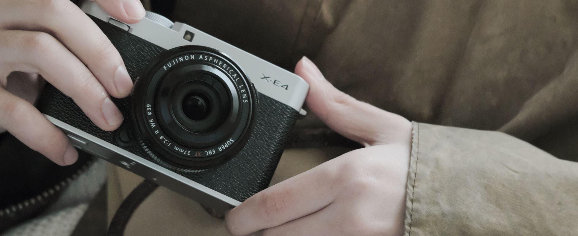 La Fujifilm X-E4 es un poco más compacta que la generación anterior mexico precio 2021